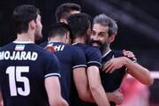 جشن پسرهای خوش تیپ ایران پس از پیروزی مقابل لهستان/عکس