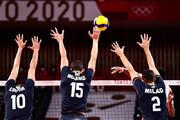 ببینید | لحظه پیروزی شیرین والیبال ایران مقابل لهستان