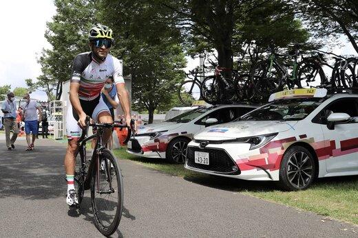 سعید صفرزاده دوچرخه سواری