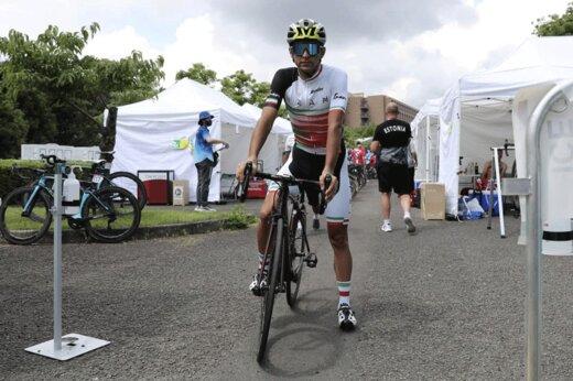 تصاویر | رقابت سعید صفرزاده با دوچرخهسواران در المپیک