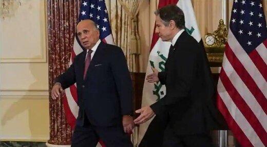 وزیرخارجه عراق چه گفت که نیروهای مقاومت بیانیه صادر کردند؟