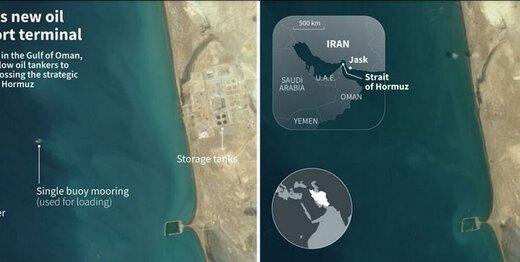 روایت رسانه فرانسوی از اهمیت استراتژیک افتتاح خط لوله گوره- جاسک برای ایران