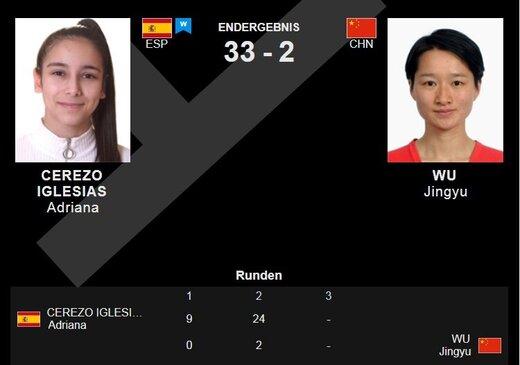 بلایی که دختر ۱۷ ساله اسپانیایی سر قهرمان چینی با دو طلای المپیک آورد