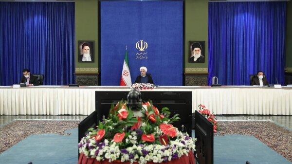 Rouhani calls for solving Khuzestan problems upon leader's order