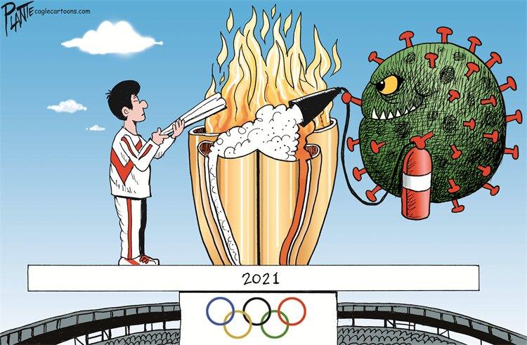 خرابکاری کرونا در المپیک را ببینید!