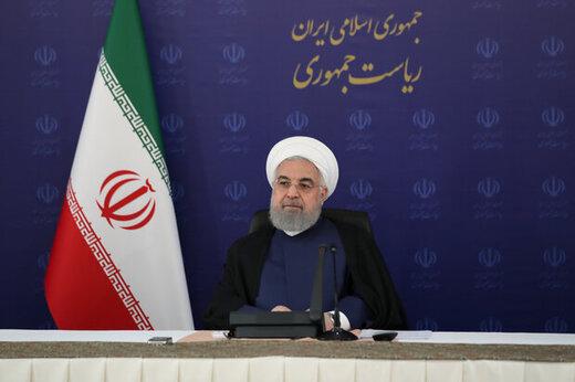 روحانی:مصوبه مجلس دست و پای ما را در مذاکرات بست