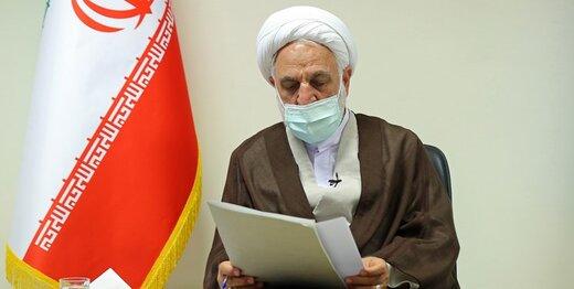 بازدید حجت الاسلام اژهای از بندهای بازداشت متهمان امنیتی در زندان اوین