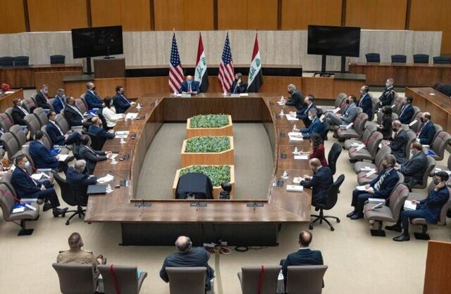 وزارت خارجه آمریکا شرح توافق استراتژیک با عراق را منتشر کرد/خبری از خروج نظامیان نیست