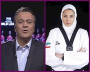 ببینید | واکنش کنایهآمیز مجری تلویزیون به انتقادات از حرفهای تندش در خصوص کیمیا علیزاده
