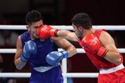 تصاویر | مشتهای بوکسور المپیکی ایران که از چشمان داوران دور ماند
