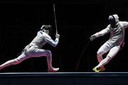 ببینید   پای کریس رونالدو به مسابقات شمشیربازی المپیک باز شد