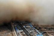ببینید | وقوع طوفان شن وحشتناک در چین