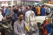 ببینید | ویدئوی خبرگزاری فارس از تجمع امروز تهران مقابل پاساژ علاء الدین