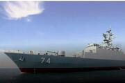 ببینید | تصاویری از اعزام ناو نیروی دریایی ارتش و حضور فرمانده این نیرو در روسیه
