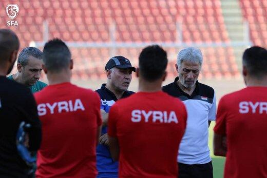 سوریه برای بازی ایران استارت زد/عکس