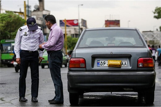 ببینید   هشدار جدی رئیس پلیس راهور برای افرادی که پلاک خودرو را مخدوش میکنند