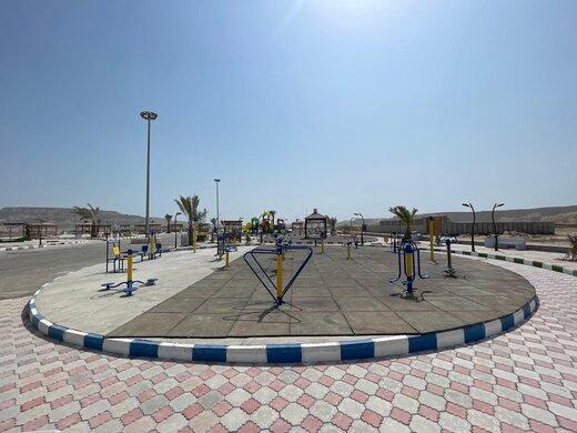 افزایش سرانه  فضای تفریحی - ورزشی و بهبود محیط شهری و روستایی قشم