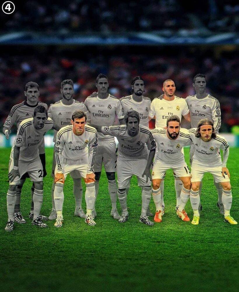 تفاوت فاحش بین رئال رویایی آنچلوتی با تیم 2021/عکس