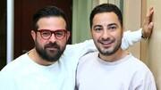 عکس | تصویر جدید هومن سیدی در کنار نوید محمدزاده و همسرش فرشته حسینی