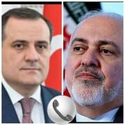 گفتگوی تلفنی وزیران خارجه ایران و جمهوری آذربایجان