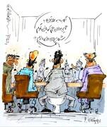 وضعیت عجیب فیروز کریمی در کنفرانس خبری را ببینید!