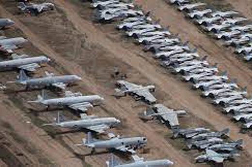 ببینید | قبرستان جنگندههای آمریکایی