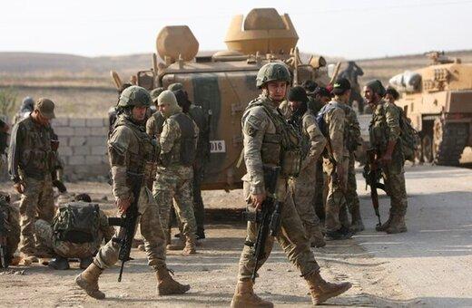 توپخانه ارتش ترکیه به سمت مواضع کردهای سوریه آتش گشود