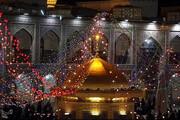 تصاویر | حال و هوای حرم مطهر رضوی در آستانه عید غدیر