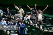 تصاویر | حال و هوای صحن علنی مجلس در روز تصویب طرح صیانت از فضای مجازی