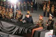ببینید | گرامیداشت آتش بس جنگ دو کره با حضور کیم جونگ اون
