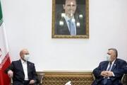 جزئیات جلسه قالیباف و رئیس مجلس سوریه