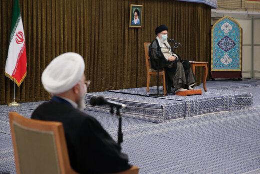 گزارش مهم روحانی به رهبر انقلاب درباره مقابله با تحریم نفتی، توطئه اقتصادی و ...