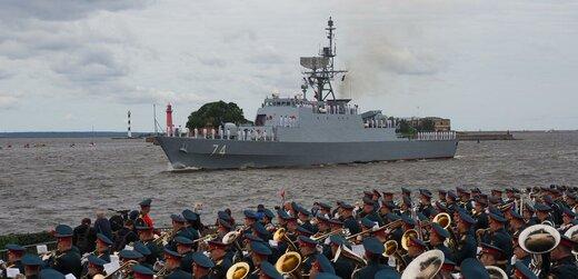 کشتیهای جنگی ایرانی در سن پترزبورگ؛پیام تهران به واشنگتن است؟