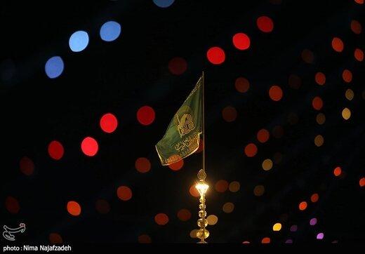 حرم مطهر رضوی در آستانه عید غدیر