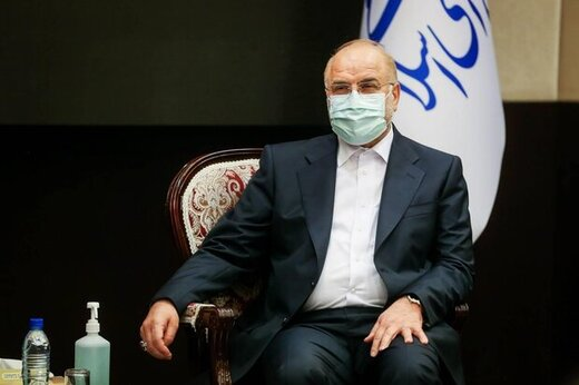 جلسه خصوصی قالیباف و بشار اسد