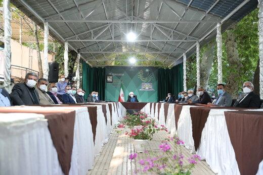 روحانی:نمیتوان فضای مجازی را مسدودکرد/دولت کارهای بزرگیانجام داد