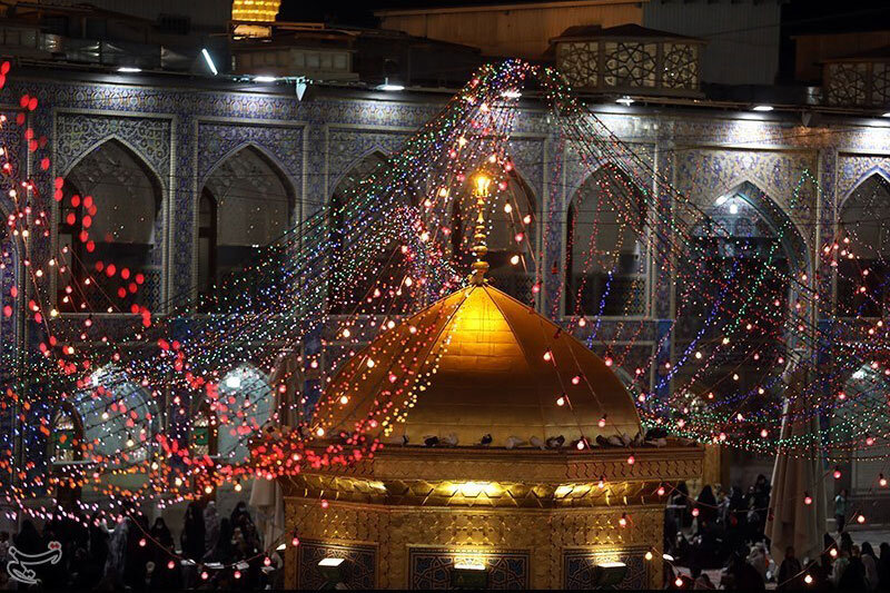تصاویر   حال و هوای حرم مطهر رضوی در آستانه عید غدیر