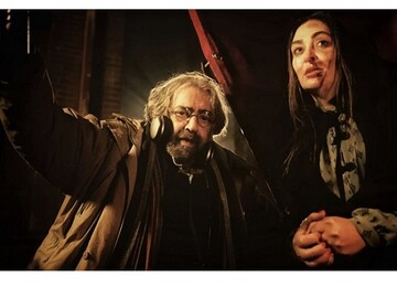 گروهی بزرگ از بازیگران در کنار مسعود کیمیایی/ تیزر پشت صحنه «خائن کشی»