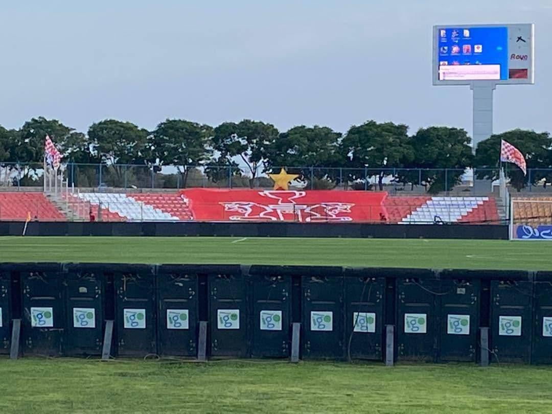پرسپولیسیها استادیوم پیکان را تزیین کردند/عکس