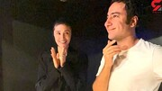 عکس | مراسم ساده عقد نوید محمدزاده و فرشته حسینی در روز عید غدیر