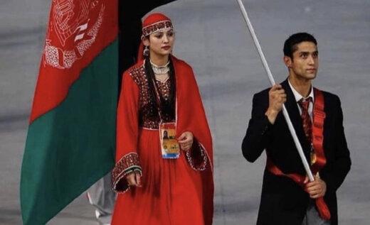 ببینید | گفته های دختر تاریخساز و پرچمدار المپیک افغانستان پس از حذف از المپیک