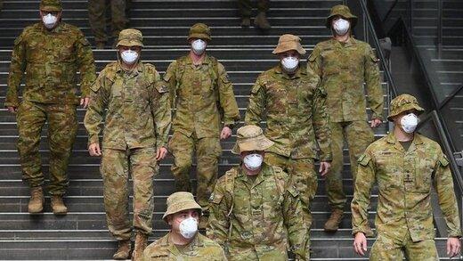 استرالیا،ارتش را علیه دلتا کرونا به خط کرد