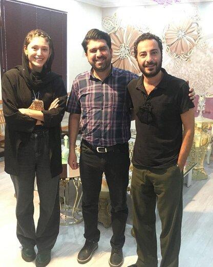 عکس | نوید محمدزاده و فرشته حسینی رسماً عقد کردند