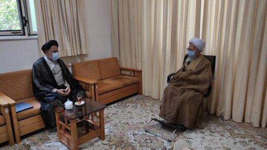 وزیر اطلاعات پیام رئیس جمهور را به کدام مرجع تقلید رساند؟