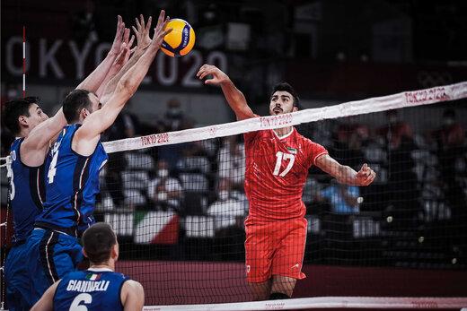کار والیبال ایران به اما واگر کشید