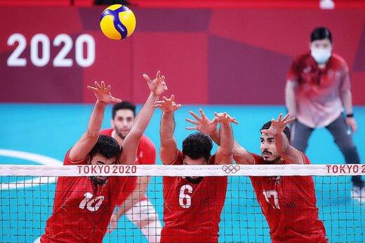 جایگاه ایران در جدول ردهبندی والیبال المپیک/عکس