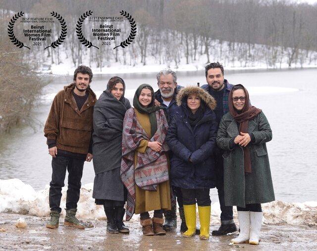 جایزه جشنواره لبنانی برای کارگردان و بازیگران فیلم «خط فرضی»