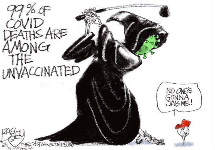 ببینید کرونا با دشمنان واکسن چه میکند!