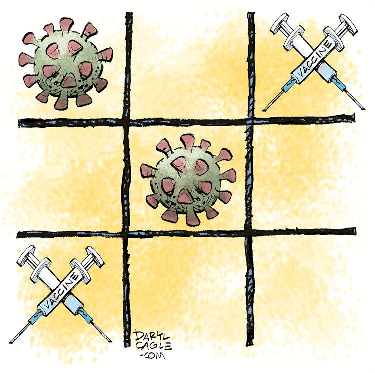 چه کسی برنده این بازی خواهد بود، کرونا یا واکسن؟!