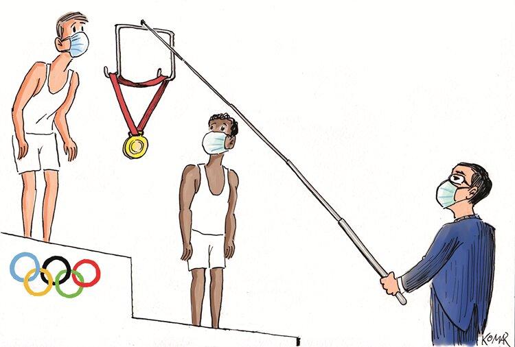 جدیدترین شیوه اهدای مدال در المپیک را ببینید!